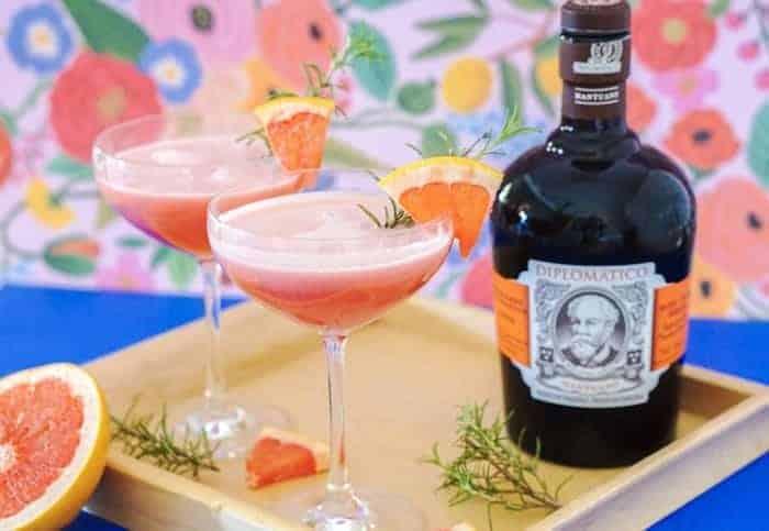Rum Grapefruit Cocktail
