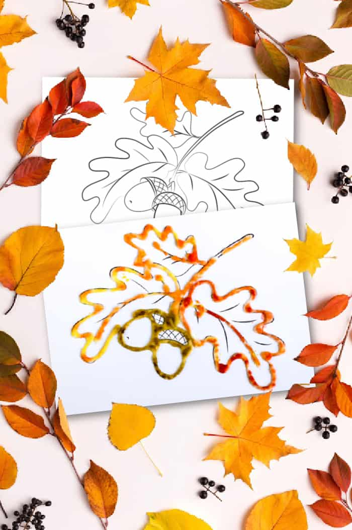 printable fall leaves