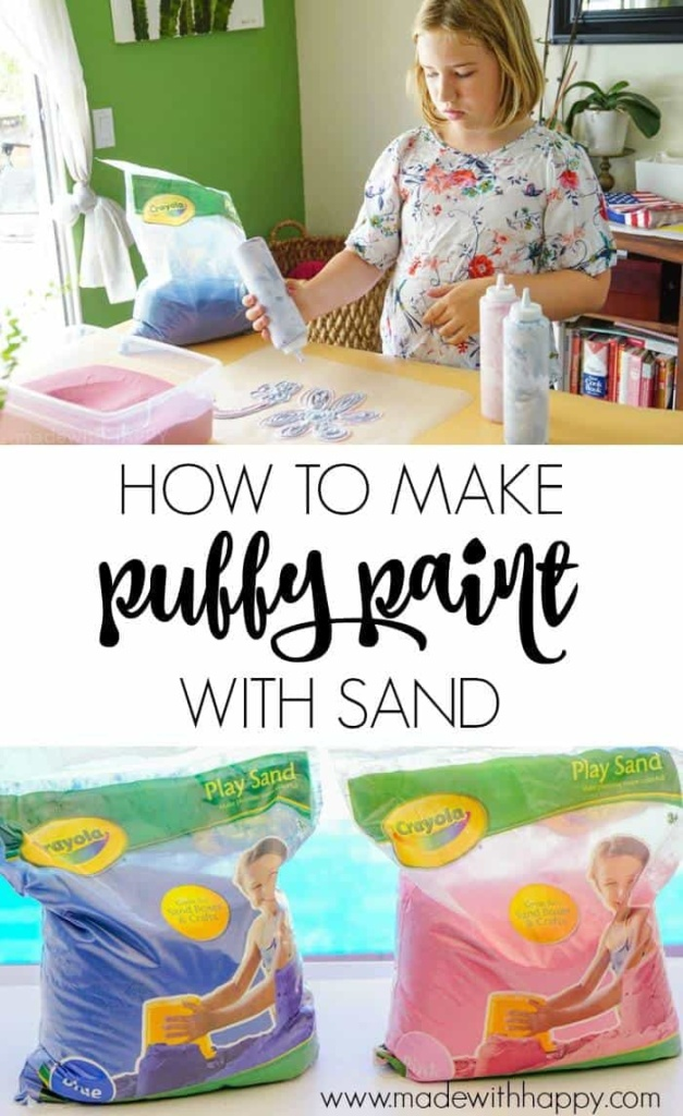 Sand Puffy Paint