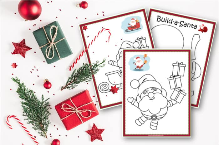 Santa Coloring Pages