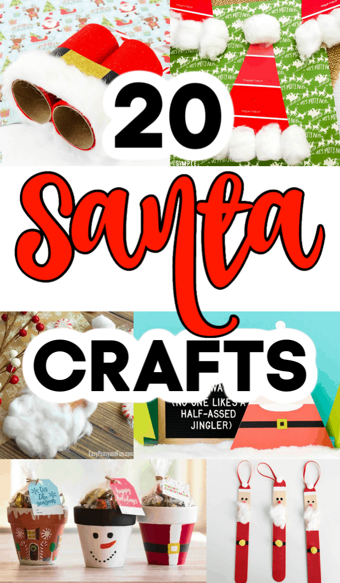 Fun Santa Crafts