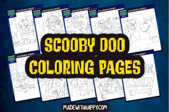 Scooby Doo Coloring Pages For Kids