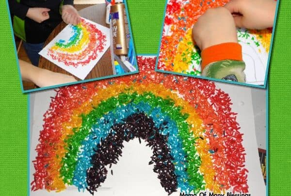 Color of the rainbow Art