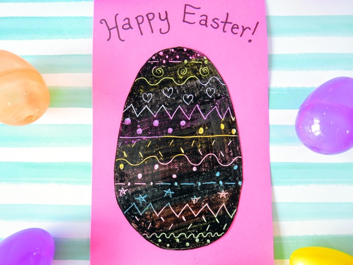 Scratch Off Easter Egg