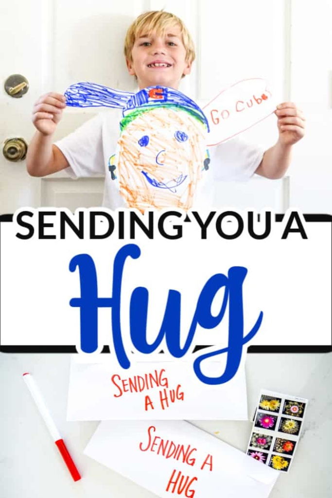 Sending You a Hug Craft