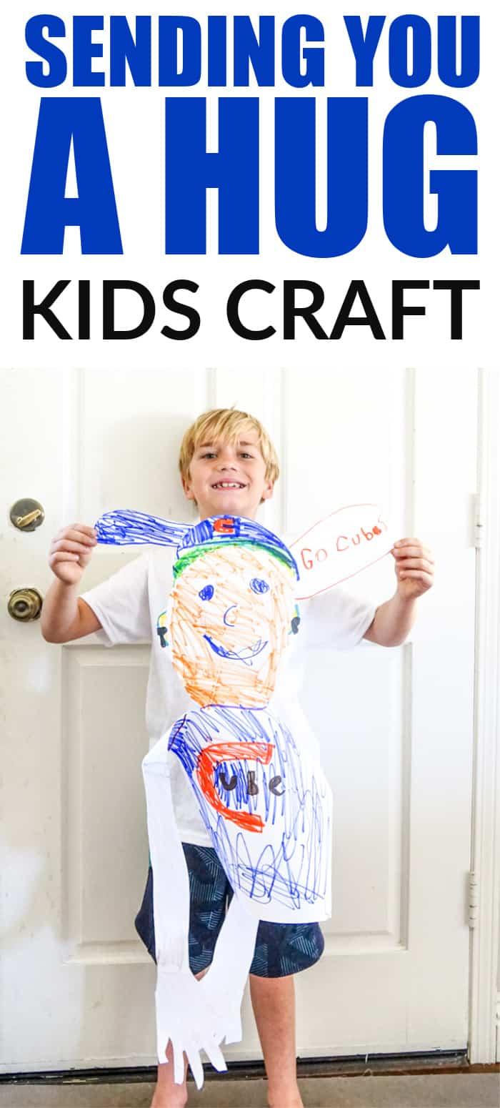 Self Portrait For kids - Sending a Hug