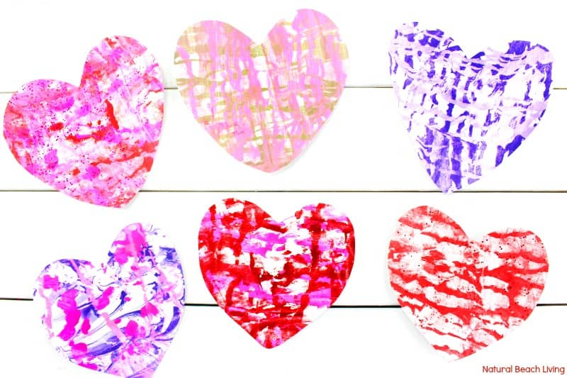 Shaving Cream Heart Art