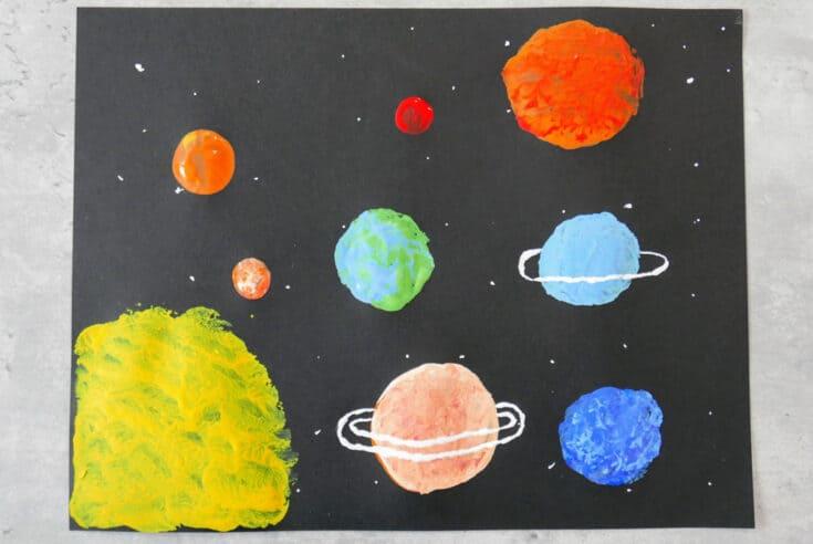 solar system crafts for preschoolers