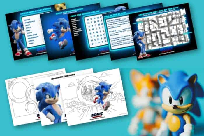 Printable Sonic The Hedgehog Coloring Pages - Made With HAPPY