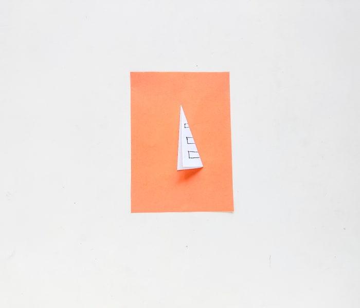 step 3 in folding paper