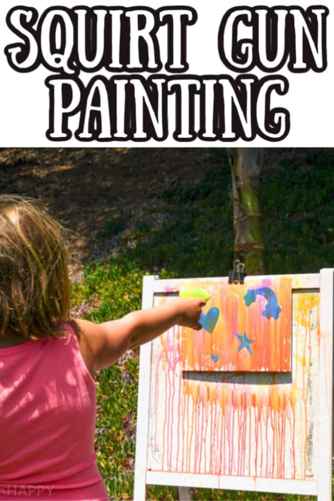 Squirt Gun Painting Project