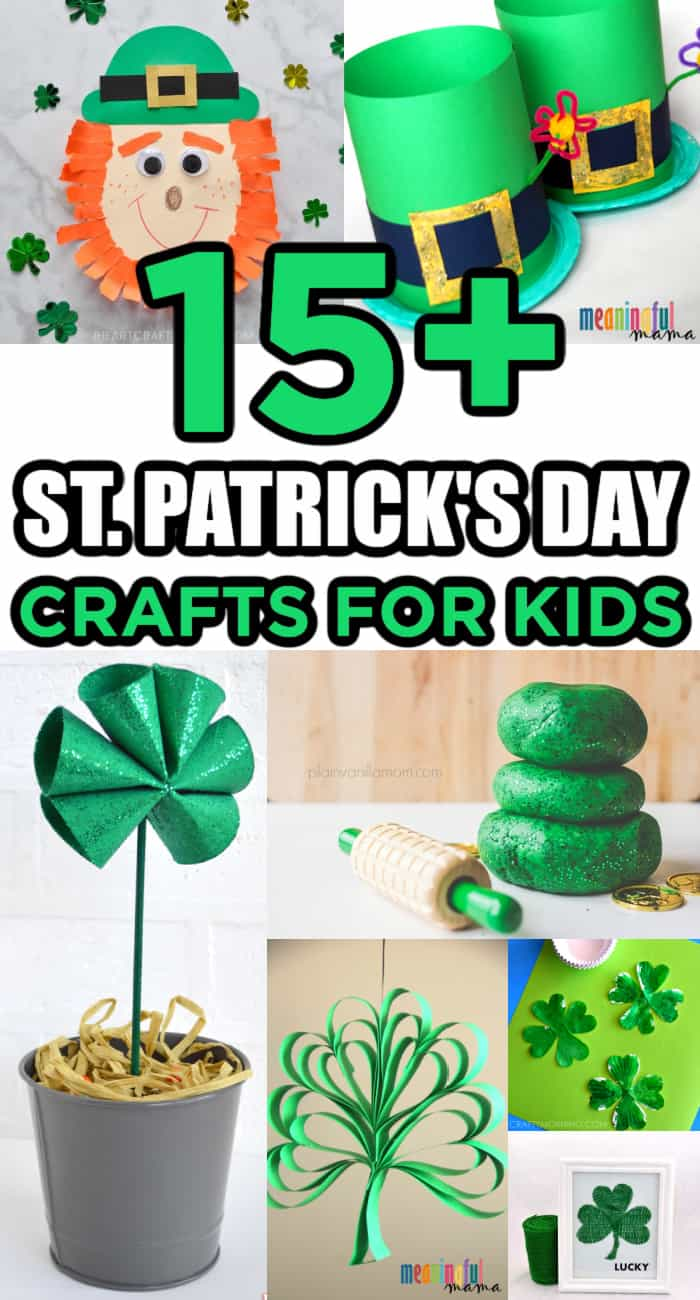 st patrick's day crafts for kids