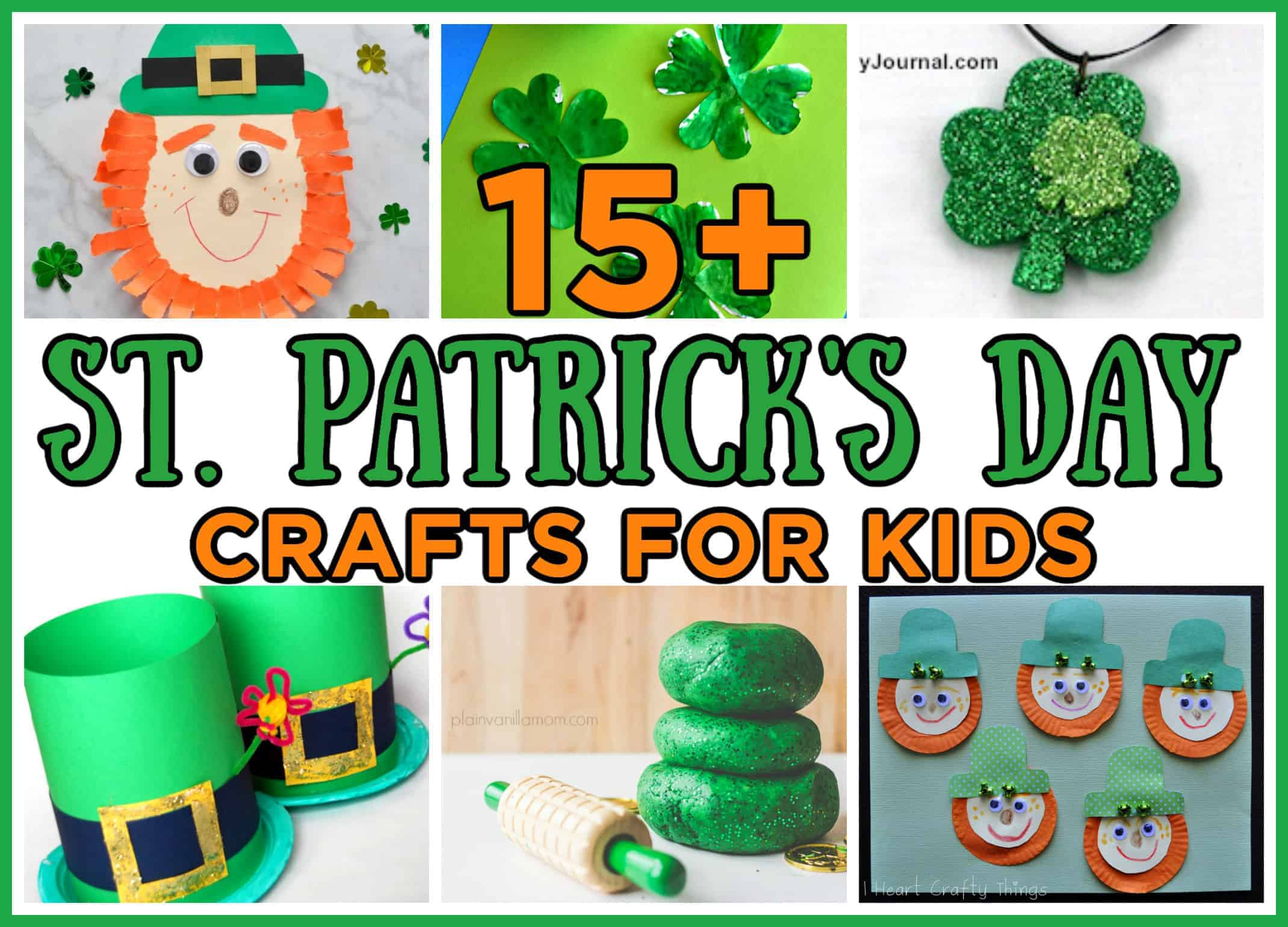 St. Patrick's Crafts For Kids