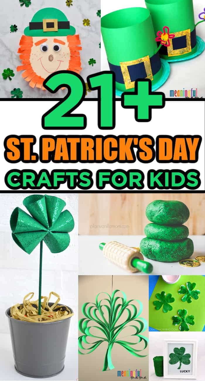 Lucky St. Patrick's Day Crafts for Kids