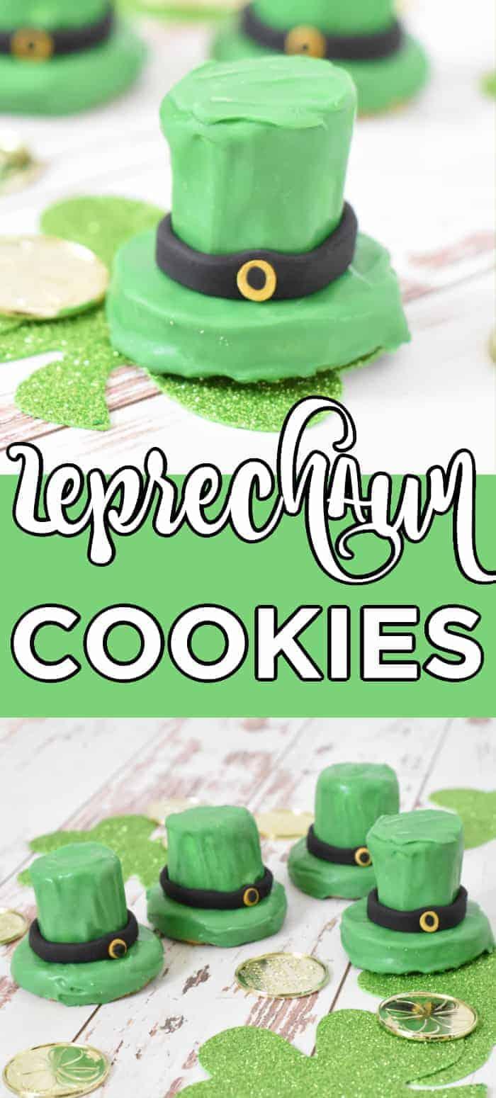 St. Patrick's Day Leprechaun Cookie