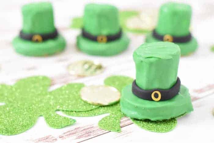 St. Patricks Day Treats - Leprechaun Hat Cookies