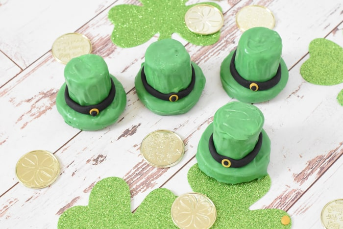 St. Patrick;s Day Hat Cookies