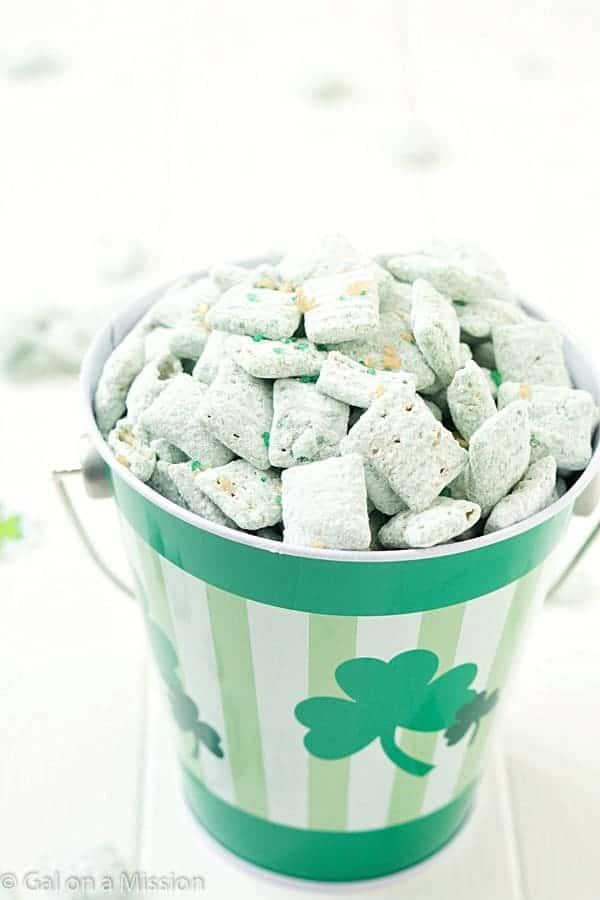 St. Patrick's Day Puppy Chow