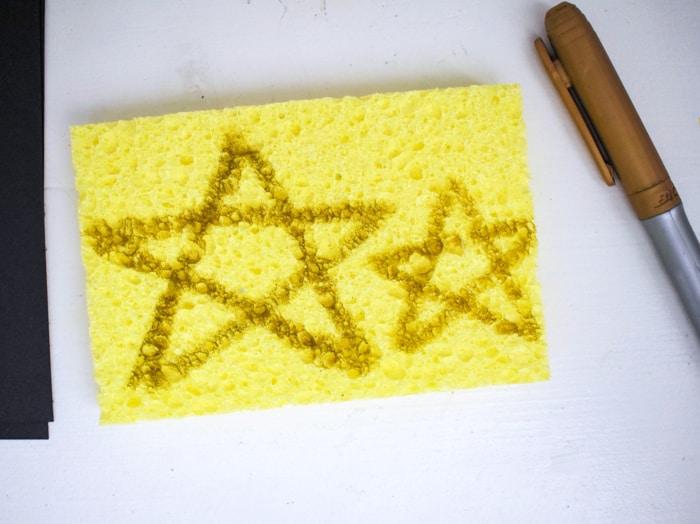 Star on Sponge