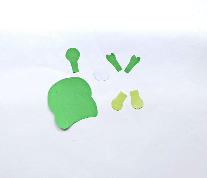 alien craft step 1