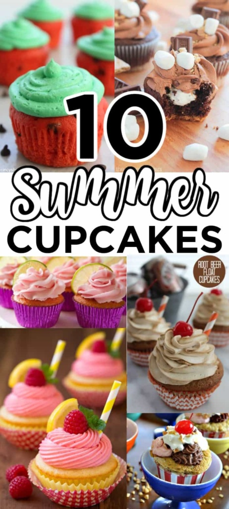 Summer Cupcake Ideas