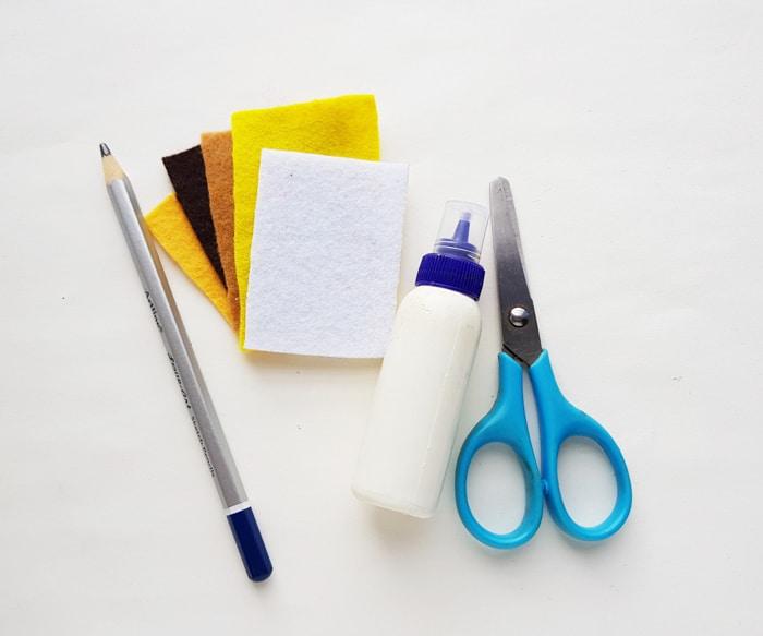 Supplies for Felt craft