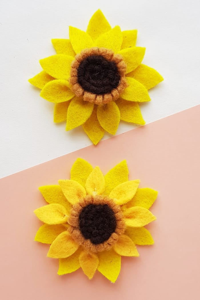 Kids Sunflower Craft