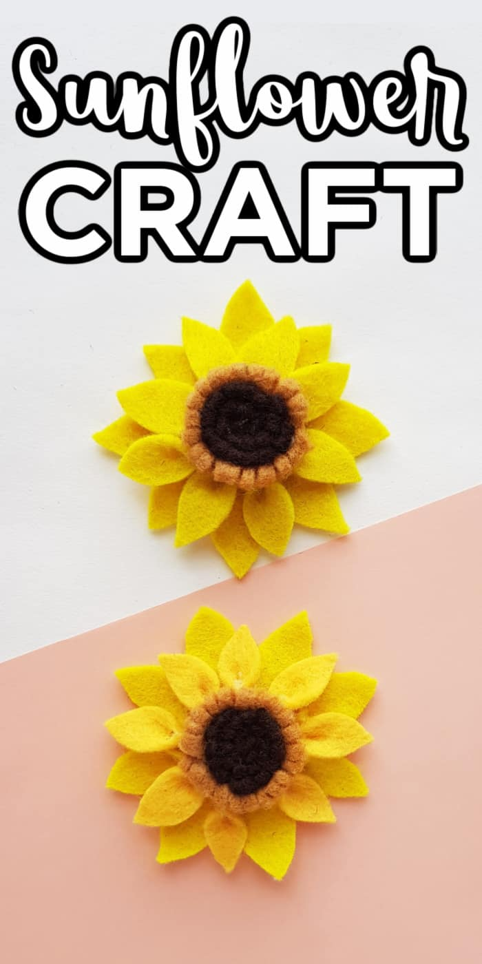 Kids Sunflower Crafts