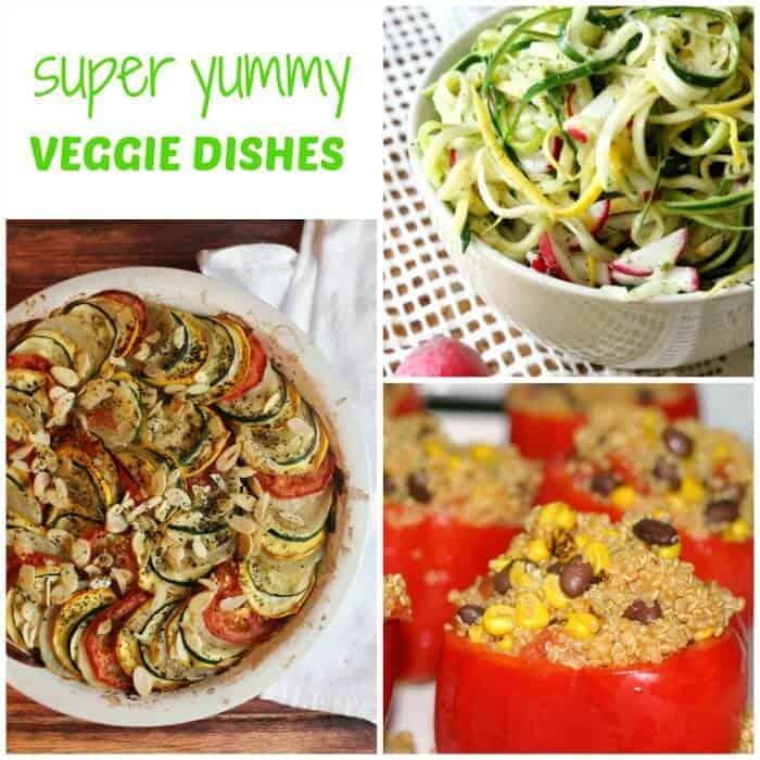Super Yummy Veggie Dishes. Meatless Mondays. Veggie Dish Ideas. Veggie Side Salads