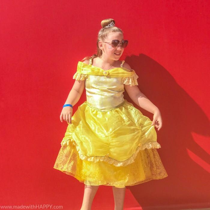 Bibbidi Bobbidi Boutique on Disney Cruise. Princess Belle. What is really like on a Disney WDW Cruise. Answering questions about Disney Cruise and the Disney Dream. What to expect on a Disney Cruise. The Disney Cruise as a family of four!