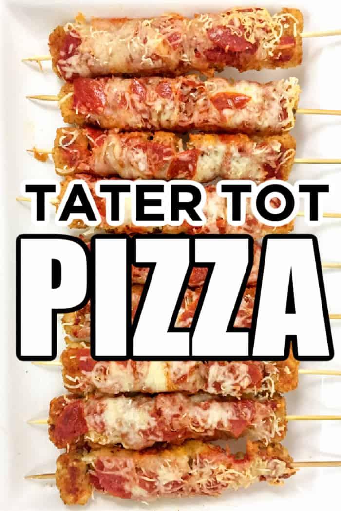 tater tot pizza
