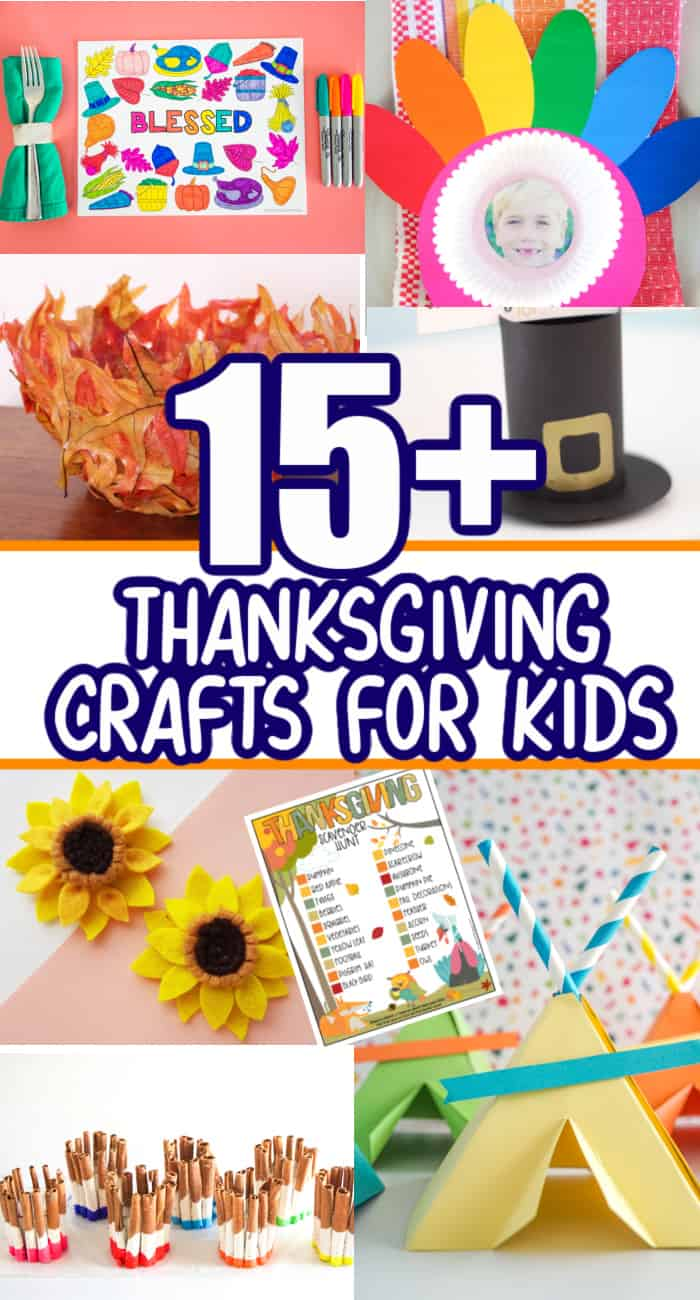 15+ Easy Thanksgiving Crafts For Kids