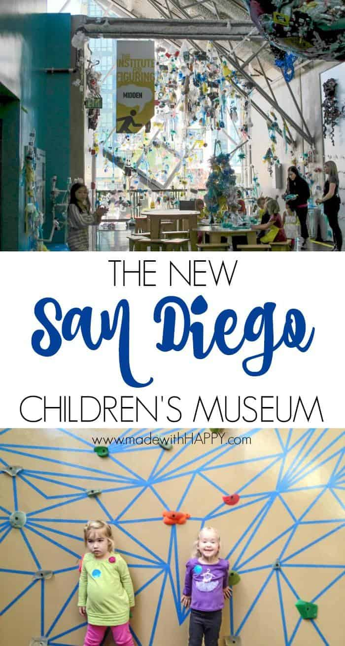 The New Children's Museum San Diego. Visiting San Diego with Kids. Children's Museum Downtown San Diego.