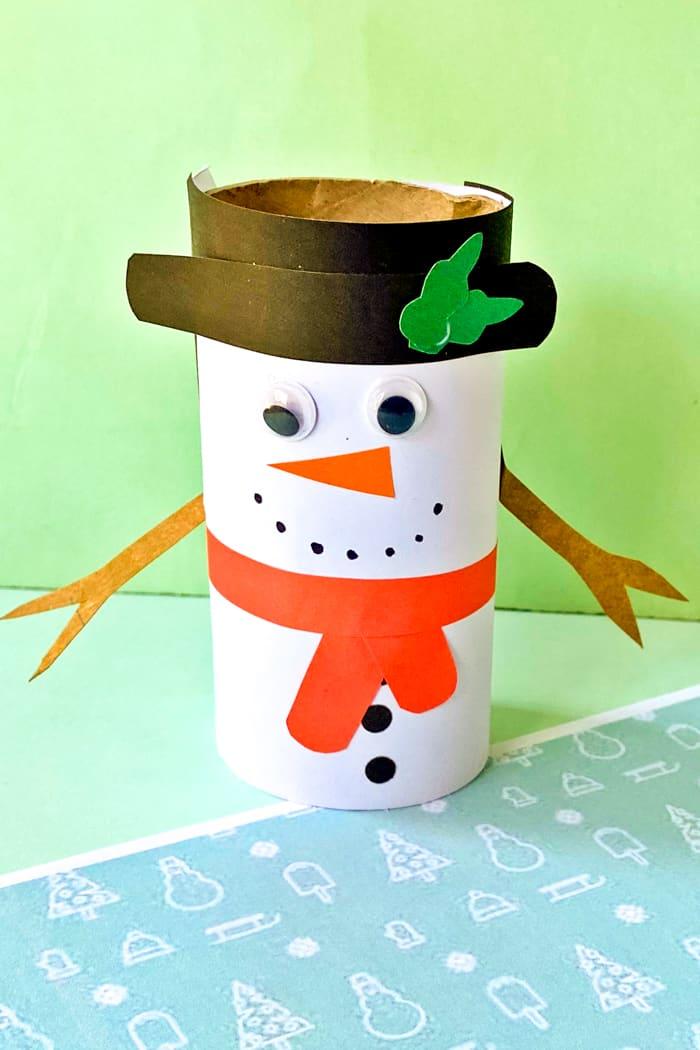 Paper Craft Snowman