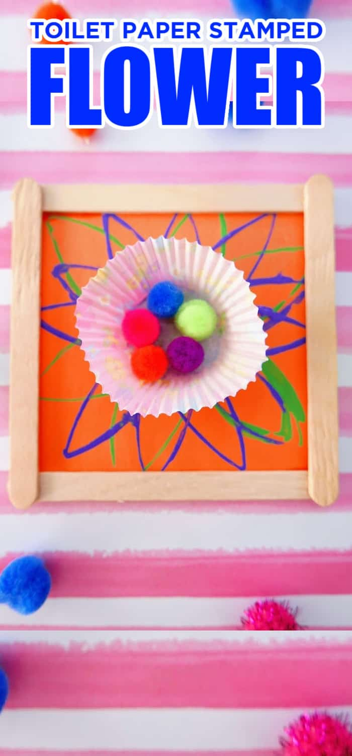 kids crafts with popsicle sticks and toilet paper roll
