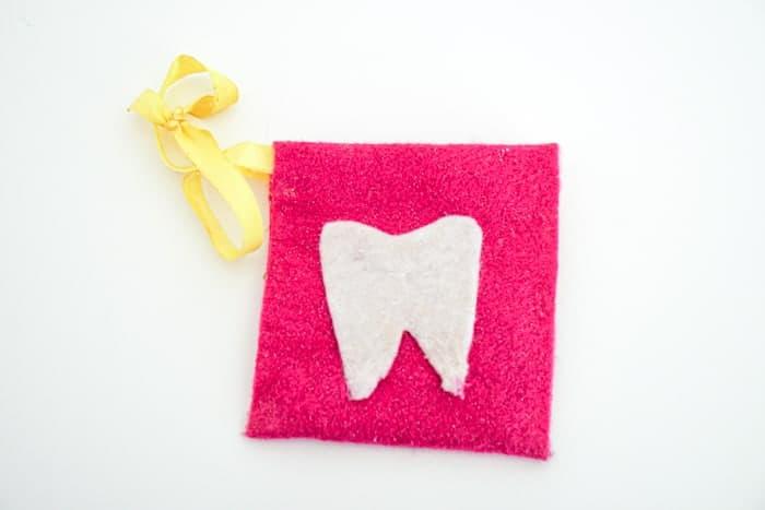 Tooth Fairy Felt Bag