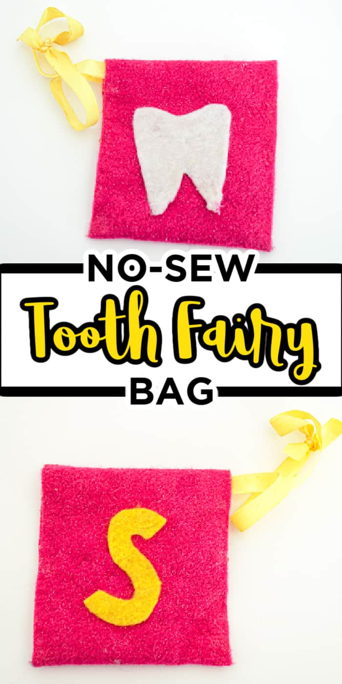 No-Sew Tooth Fairy Bag