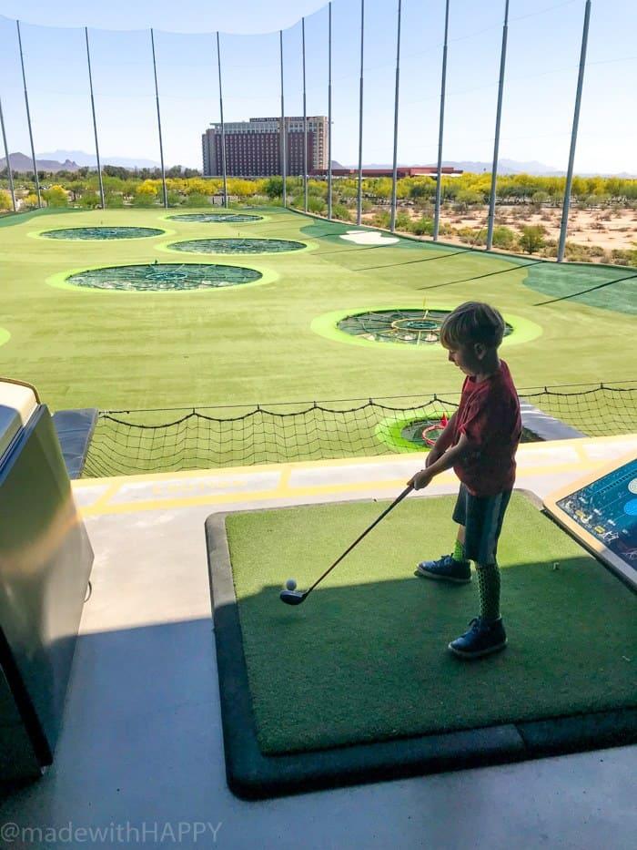 Kids Activities Phoenix Arizona. TopGolf Scottsdale with kids. Fun things to do in Phoenix Arizona. Phoenix Arizona Attractions. Spring Break Road Trip from San Diego to Phoenix. Fun Stops from California to Arizona.