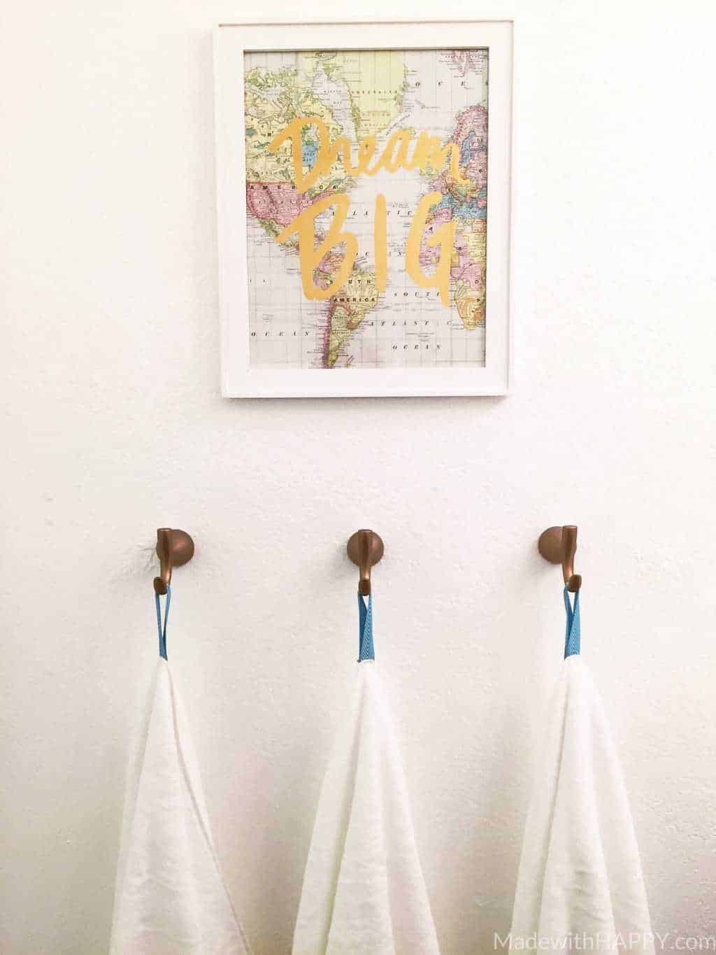 how to make towel tags
