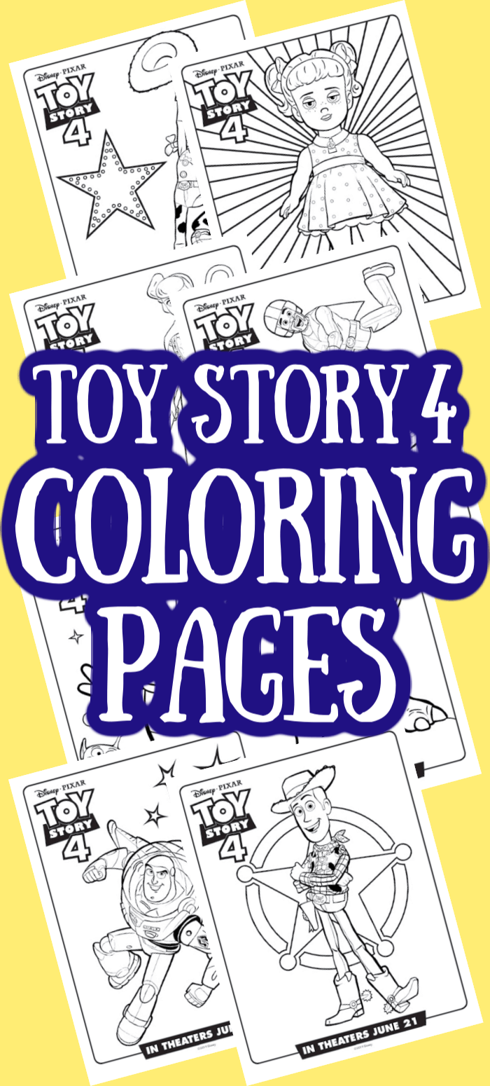 Toy Story 4 Coloring Pages Free Printables