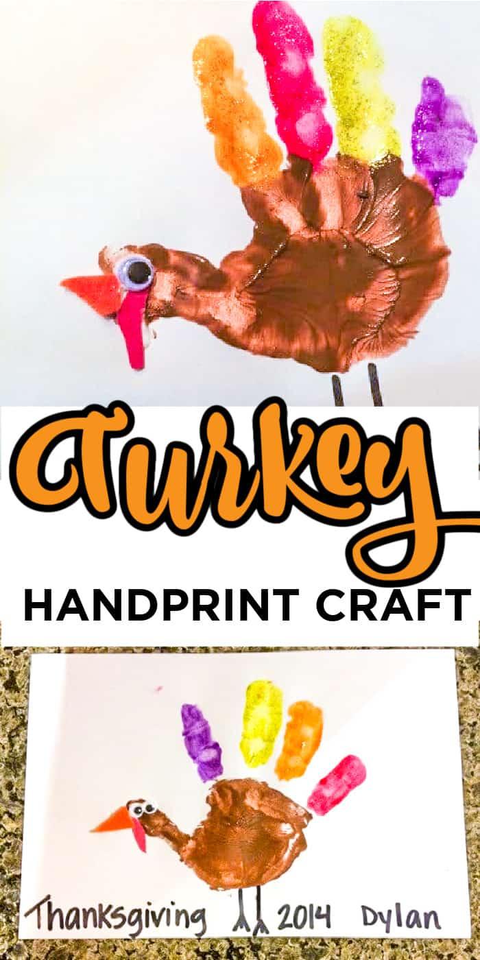 Kids Handprint Crafts