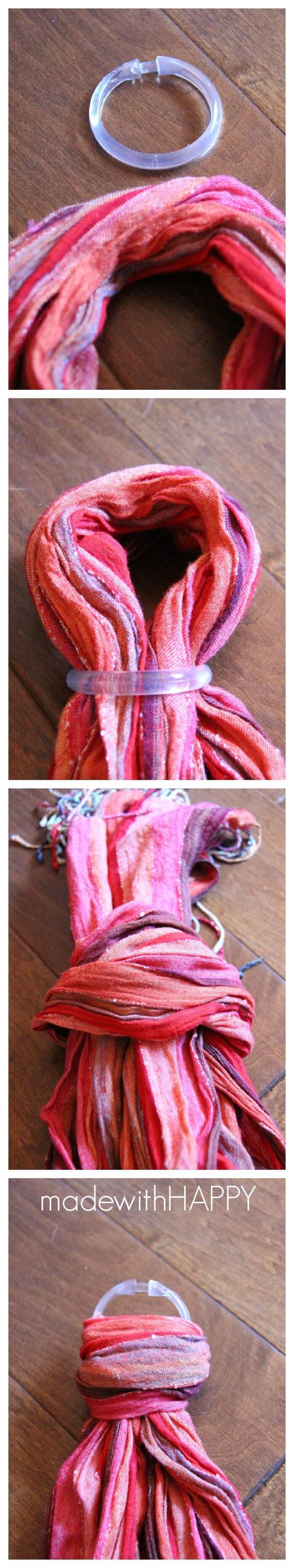 Tying-scarf