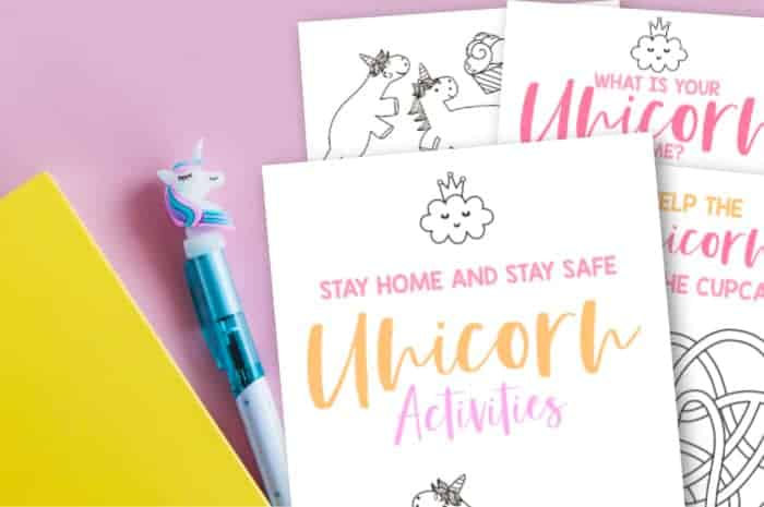 Free Printable Unicorn Pages