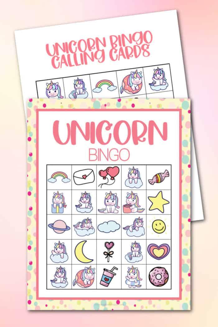 How do you play Unicorn bingo?