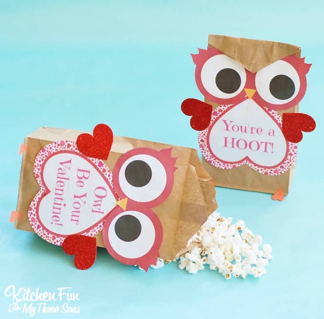 Valentines Own Paper Treat Bag