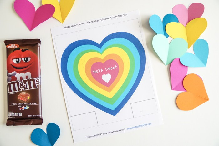 Printable Candy Bar Wrapper. DIY Candy Bar Wrappers are great for Valentines. These simple free printable DIY Candy Bar Wrappers are great for the M&M Candy Bars. Valentines presents for your neighbors and friends!