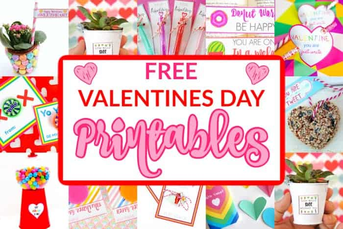 15+ Free Valentines Printables for Kids