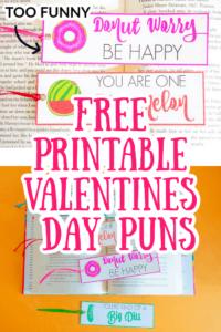 Free Printable Valentines Day Puns