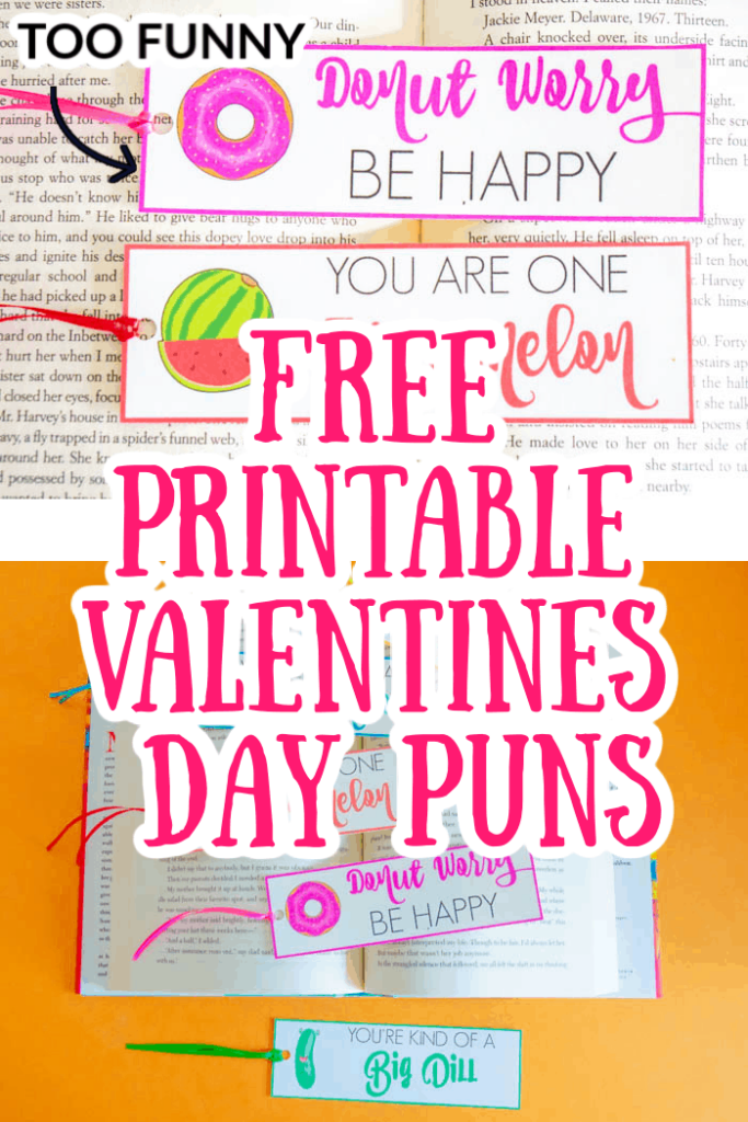 Free Printable Valentines Day Puns