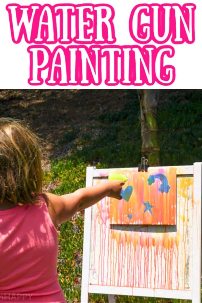 Water Gun Painting Project